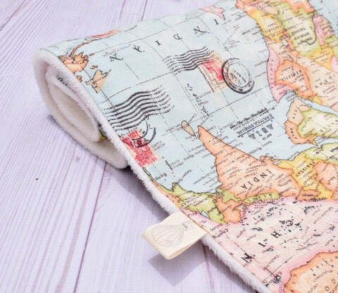 World map blanket fabric 28 images 45cm fashion blue world map blanket fabric travel theme blanket world map baby blanket adventure theme gumiabroncs Images