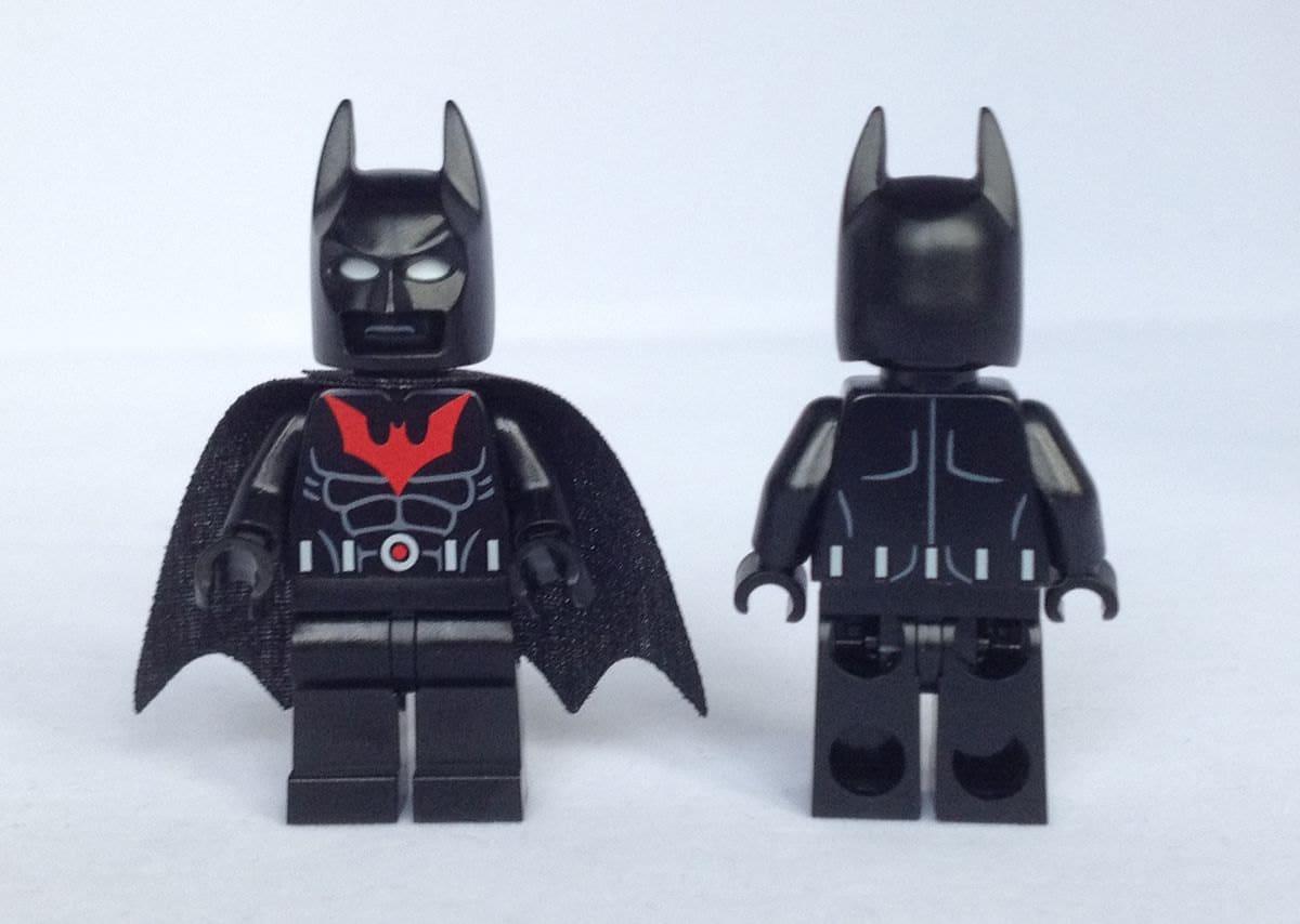 Batman Beyond Lego Sets BATMAN BEYOND Custom M...