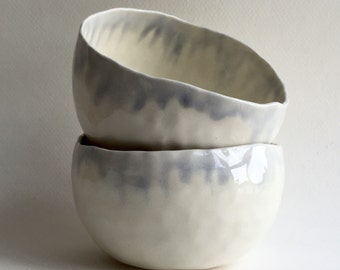 Icicle pinch bowls (pair)