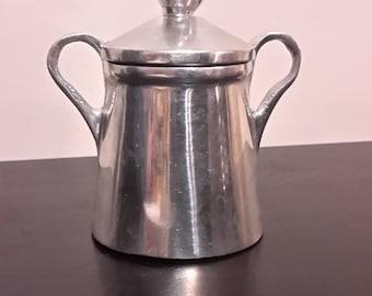 Cast Aluminum Sugar Bowl