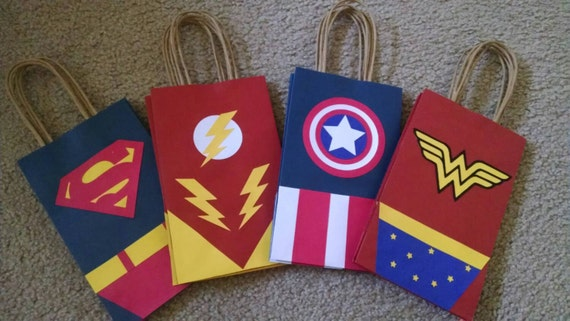 Super Hero Goody Bags