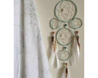 Boho Feather Dream Catcher