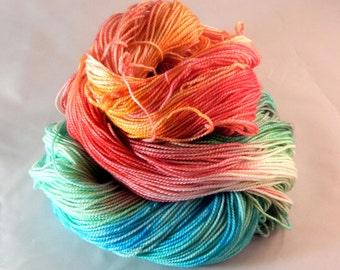 Fruit Loops, Superwash Merino, Sock