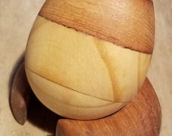Cedar/Teak/Oak Egg sculpture