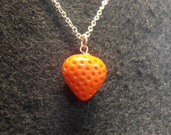 Vintage Strawberry Necklace