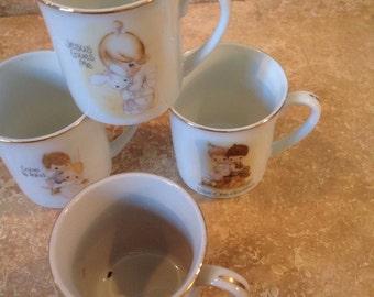 Precious moments teacups