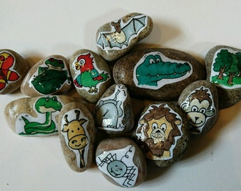 The Jungle - Story Stones: Educational story telling fun