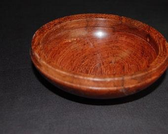 Small bubinga bowl