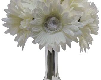 """10"""" Gerbera Daisy Bouquet X 9 (Pack of 12)"""
