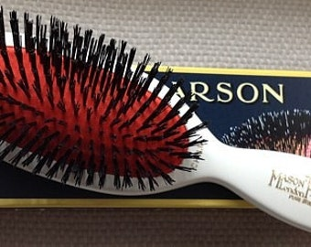 MASON PEARSON pure bristle brush perfect christening gift personalized