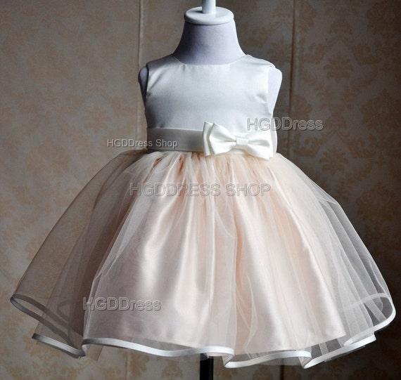White Flower Girl Dresses Etsy 116