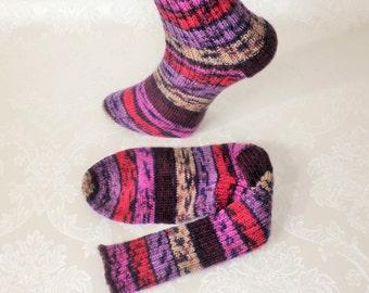 Socks, stockings, knitted socks