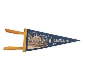Colonial Williamsburg Felt Pennant