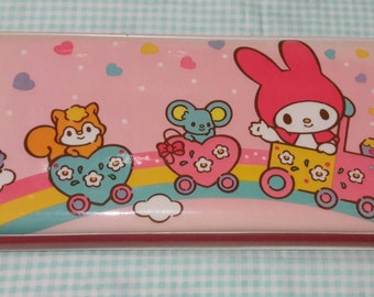 Vintage My Melody Pencil Case 1987 Sanrio made in Japan