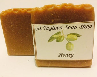 Honey soap with oatmeal