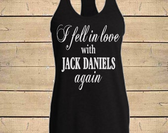 Country Shirts, Miranda Lambert Country Lyrics Shirt, Jack Daniels Shirt, Whiskey Tank, Womens (Fitted Style) Tri-Blend Racerback Tank Top