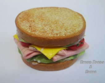 Miniature Deli Sandwich Food Prop For SD BJD