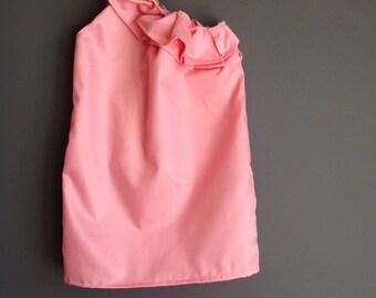 Beautiful pink ruffle dress