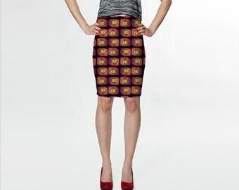 Ray gun skirt