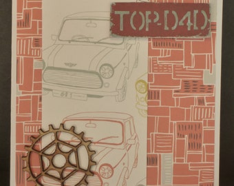 Top Dad Father's Day Card 2644