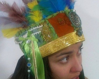 Patchwork Princess Headdress