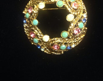 1950's Wreath Brooch