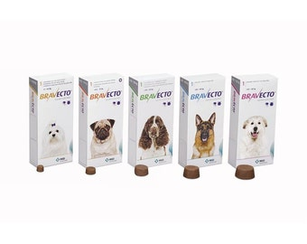 Bravecto chewable tablet Flea & Tick Treatment for Dogs !!!
