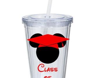 Mickey Graduation Tumbler - Class of 2016