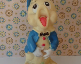 Vintage Squeaky Toy Singing Duckling