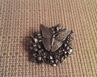On Sale Bird and Bloom Pin Brooch