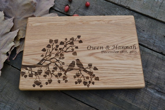 Wedding gift for couple housewarming gift wooden cutting board Best housewarming gifts for couples