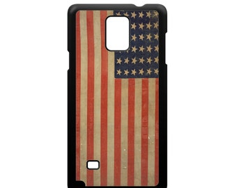 Grunge Vintage Old Glory American Flag for Samsung Galaxy Note 3 / Note 4 / Note 5 Phone Case