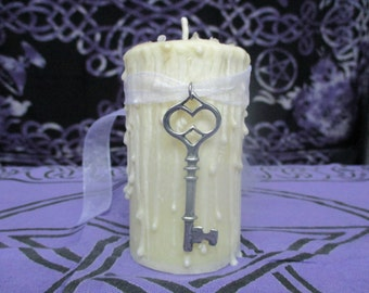Home Blessing Candle ~ Home Cleansing ~ Home Blessing Spell Candle ~ Wicca Ritual Candle ~ Ritual Candle ~ Spell Candle ~ Witchcraft Supply