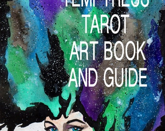 Temptress Tarot Art book and GUIDE