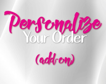 Personalize Your Cup (add on)