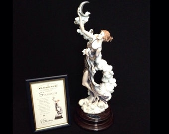FREE SHIPPING-Fabulous-Made In Italy-Giuseppe Armani-1276-C-Silver Moon-Limited Edition-55/5000-COA