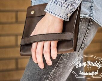 Tablet Cover, iPad Case, iPad Leather Cover,iPad Cover, iPad Sleeve, Leather iPad, Electronics Leather, Mens Leather Purse, Mens Leather Bag