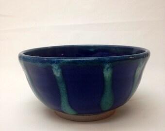 Blue Handmade Ceramic Bowl, Ceramic Bowl2