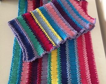 """Crochet Pattern for the """"Matties""""- Place Mats"""