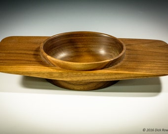 Winged Walnut Bowl