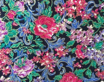 FF32 Peter Pan (4 HALF yards available) Floral Fabric