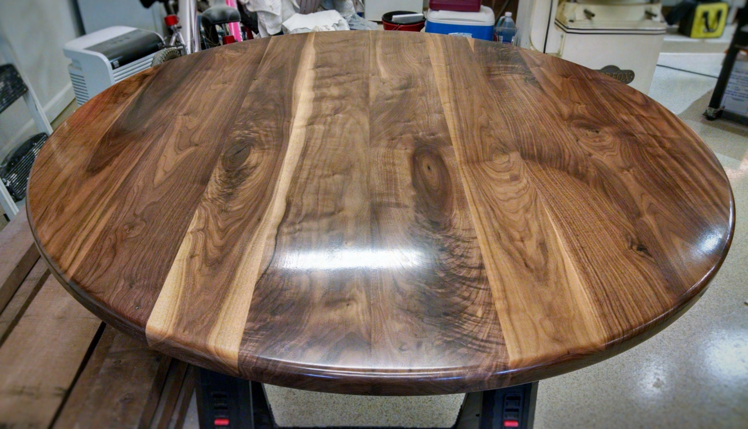 walnut table top solid black walnut wood breakfast