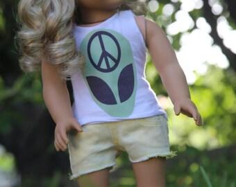 Alien AG doll tank top