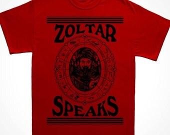 Zoltar Speaks Fortune Teller T Shirt