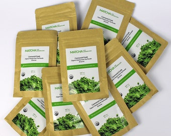 Ceremonial Grade Organic Matcha - 300g - 10 pack