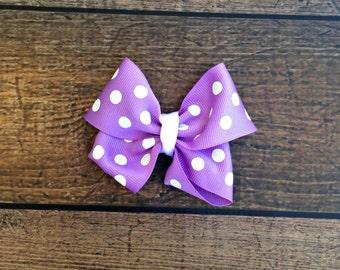 purple ribbon bow baby headband, purple baby clothes, nylon baby headband,baby bib sets, baby bow sets, baby headband, baby shower gift, bow