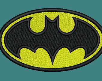 Batman Machine embroidery design for instant download