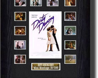 Dirty Dancing film cell (1999) , Jennifer Grey & Patrick Swayze collectible gift Present