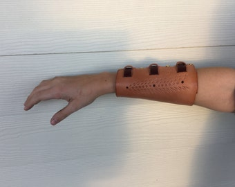 Hunger games inspired archery arm guard