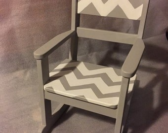 Child's Rocking Chair ZIGZAGS!